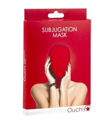 OUCH SUBJUGATION MASCARA ROJO
