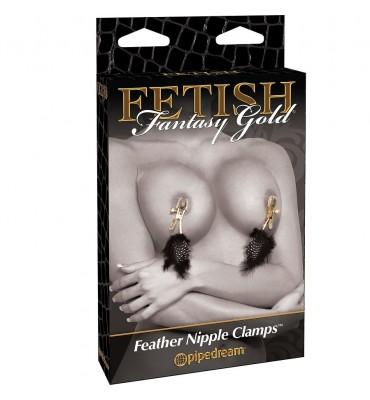 FETISH FANTASY GOLD PINZAS...